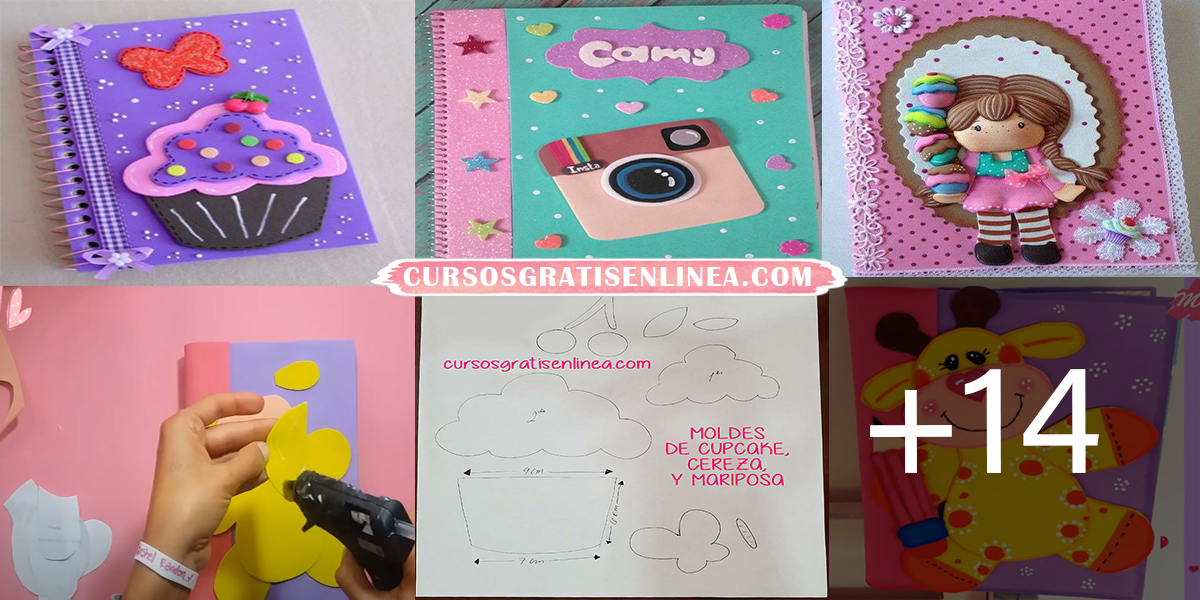 DECORAR CUADERNOS CON FOAMY