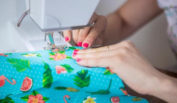 Curso aprende a coser a máquina para principiante paso a paso