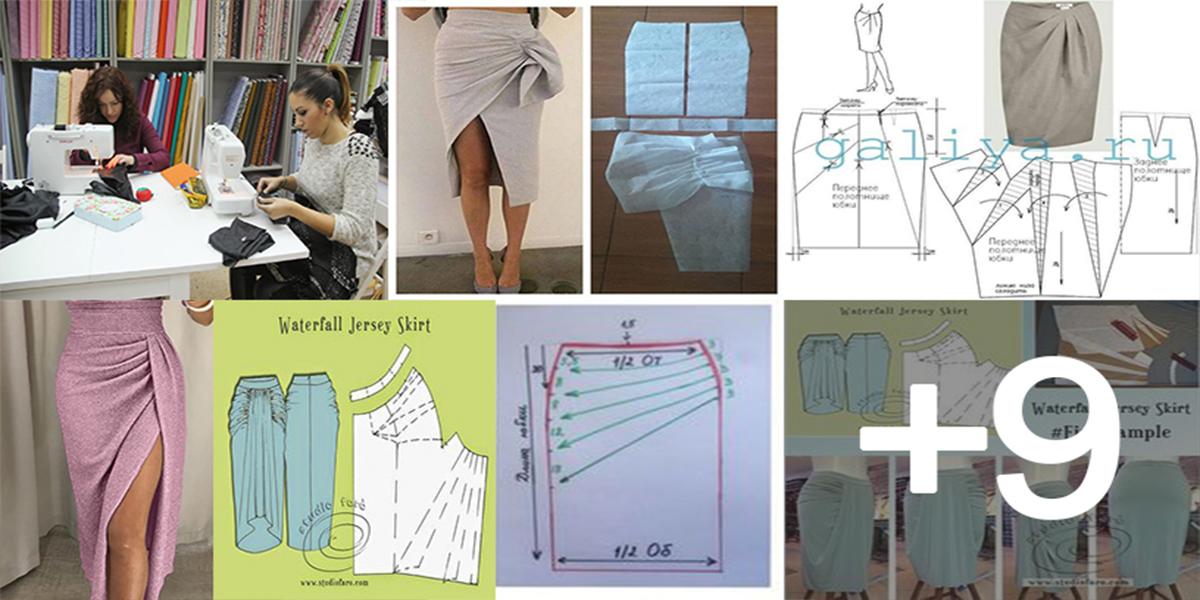 Aprende hacer faldas lápiz con sus patrones paso a paso