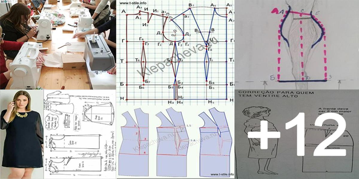 Aprende como hacer faldas plus size con sus patrones paso a paso
