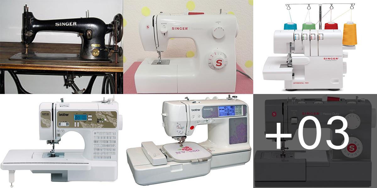 Aprende sobre los Tipos de máquinas de coser y la que necesitas